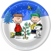 "Peanuts Peace and Goodwill 7"" Dessert Plates 8 Pack"