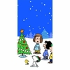 Peanuts Peace and Goodwill Party Tablecover