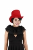 Red Coachman Costume Hat