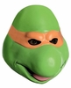 Teenage Mutant Ninja Turtles Michelangelo Overhead Adult Mask
