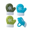 Winter Mitten Cupcake Rings 12 Pack