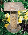 "12"" Cardinal Tube Feeder - Copper Verdi"