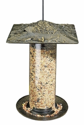 "12"" Cardinal Tube Feeder - Oil Rub Bronze"