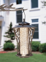 "12"" Dragonfly Silhouette Feeder - Copper Verdi"