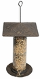 "12"" Oakleaf Tube Feeder - Oil Rub Bronze"