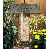 "12"" Trumpet Vine Tube Feeder - Oil Rub Bronze"