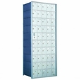 1600 Series Front-Load Horizontal Private Distribution Mailbox - 10 x 5 Doors
