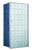 1600 Series Front-Load Private Distribution Cluster Mailbox - 10 x 3 Doors