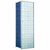 1600 Series Front-Load Private Distribution Horizontal Mailbox - 10 x 4 Doors