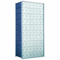 1700 Series Horizontal Private Distribution Rear-Loading Mailbox - 10 x 6 Doors