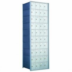 1700 Series Rear-Load Horizontal Private Distribution Mailbox - 10 x 4 Doors