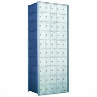 1700 Series Rear-Load Horizontal Private Distribution Mailbox - 10 x 5 Doors