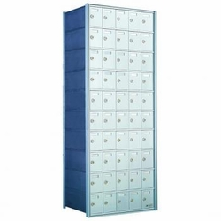 10 Doors High x 5 Doors (50 Tenants) 1700 Series Rear-Load Private Distribution Horizontal Mailbox
