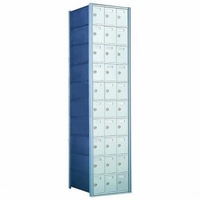 1700 Series Rear-Load Private Distribution Horizontal Mailbox - 10 x 3 Doors