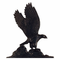 Black Eagle Mailbox Ornament