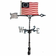 "30"" Traditional Directions FLAG (Liberty) Weathervane for Roof or Garden"