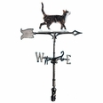 "30"" Traditional Directions Life-like MultiColor CAT STANDING Weathervane for Roof or Garden"