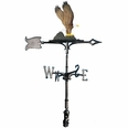 "30"" Traditional Directions Life-Like MultiColor Eagle Weathervane for Roof or Garden"