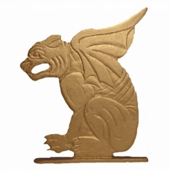 "30"" Traditional Directions Life-Like MultiColor GARGOYLE Weathervane for Roof or Garden"