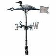"30"" Traditional Directions Life-Like MultiColor LOON Weathervane for Roof or Garden"