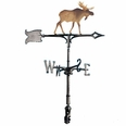"30"" Traditional Directions Life-Like MultiColor MOOSE Weathervane for Roof or Garden"