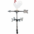 "30"" Traditional Directions Life-Like MultiColor ROOSTER Weathervane for Roof or Garden"