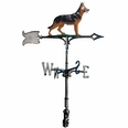 "30"" Traditional Directions Life-Line MultiColor GERMAN SHEPHERD Weathervane for Roof or Garden"