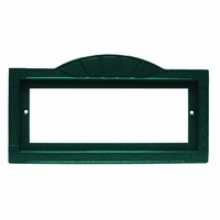 3x6 Green Contemporary Frame, holds 3 tiles