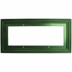 3x6 Tile Green Standard Frame , holds 3 tiles