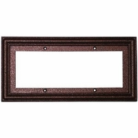 3x6 Tile Hammered Copper Standard Frame , holds 3 tiles
