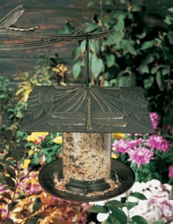 "6"" Dragonfly Tube Feeder - Oil Rub Bronze"