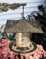 "6"" Oakleaf Tube Feeder - Copper Verdi"