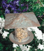"6"" Pinecone Tube Feeder - Copper Verdi"