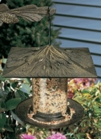 "6"" Pinecone Tube Feeder - Oil Rub Bronze"