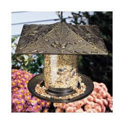 "6"" Trumpet Vine Tube Feeder - Oil Rub Bronze"