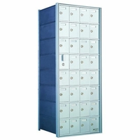 8 Doors High x 4 Doors (31 Tenants) 1600 Front-Load Private Distribution Mailbox