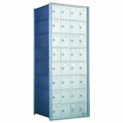 8 Doors High x 4 Doors (32 Tenants) 1700 Horizontal Mailbox Rear-Load Private Distribution
