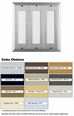 80 Name Capacity Directory - Mount Beside Horizontal Mailboxes Anodized Aluminum