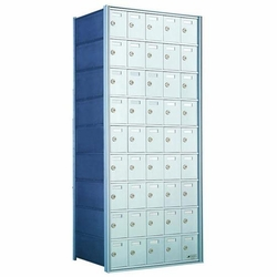 9 Doors High x 5 Doors (45 Tenants) 1700 Horizontal Mailbox Rear-Load Private Distribution