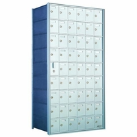 9 Doors High x 6 Doors (53 Tenants) 1600 Front-Load Private Distribution Mailbox