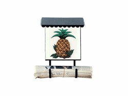 Bacova Gardens 10080 Pineapple Vertical Wall Mounted Mailbox