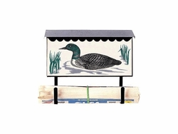 Bacova Gardens 10140 Loon Horizontal Wall Mounted Mailbox