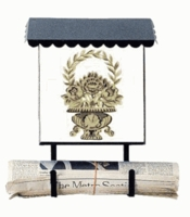 Bacova Gardens 10330 Tuscan Vertical Wall Mounted Mailbox
