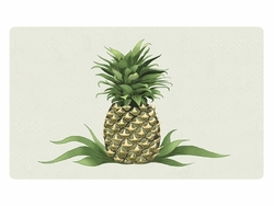 Bacova Gardens 10433 New Pineapple Residential Post Mount Strong Box Mailbox