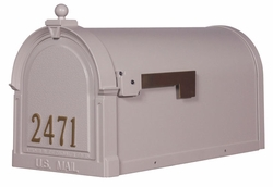 Berkshire Curbside Mailbox with Numbers on the Door