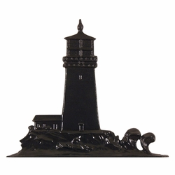 Black Lighthouse Mailbox Ornament