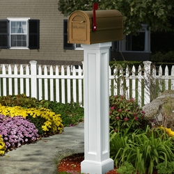 Bradford Mailbox Package in White
