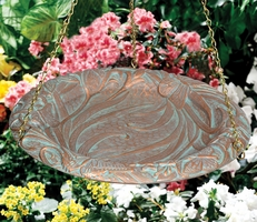 Butterfly Hanging Birdbath - Oil Rub Bronze