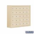 Cell Phone Storage Locker - 25 A Doors - Sandstone - Master Keyed Locks