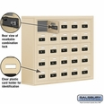 Cell Phone Storage Locker - 25 A Doors - Sandstone - Resettable Combination Locks